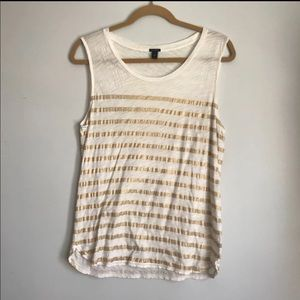 J Crew Tank Top Size Medium